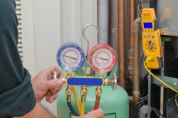 how often does hvac need freon